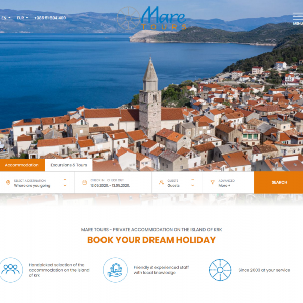 Travel agency Mare Tours